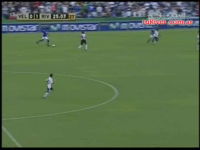 López (1-1) vs River Plate 15-03-2009
