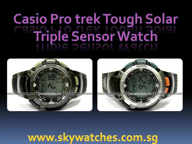 Casio protrek watch review