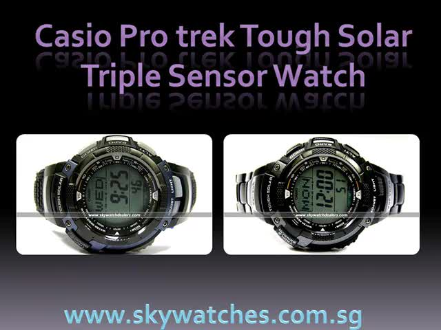 Casio pathfinder and pro trek men watch