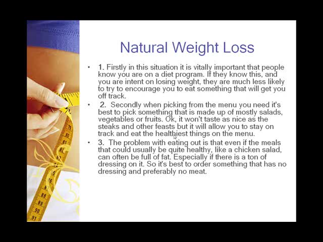 veoh - Tips to lose weight