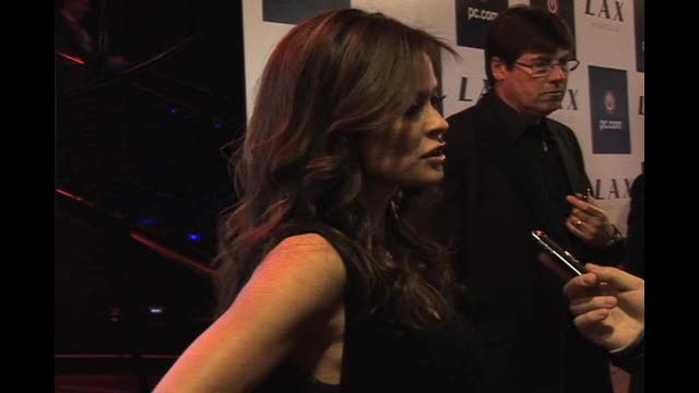 Brooke Burke at Intel Party CES 2009