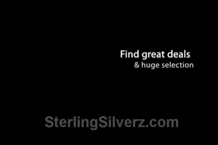 Sterling Silver For Sale