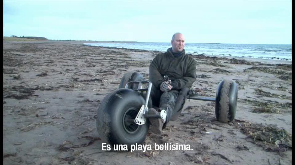 Kitesurf y buggies en Canada