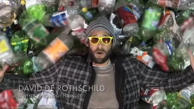 David de Rothschild to Cross the Pacific... on Plastic