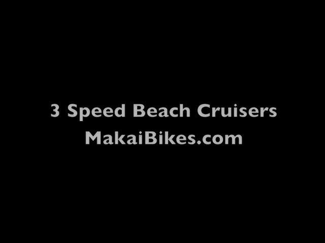 3 Speed Beach Cruisers