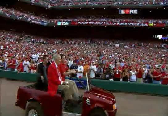 MLB Allstar Baseball's Not For Old Folks - Obama Jog 'n Toss