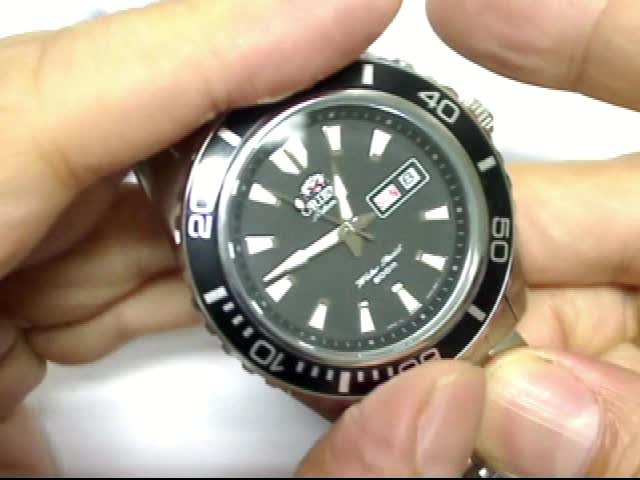 Orient mens automatic diver watch reviews