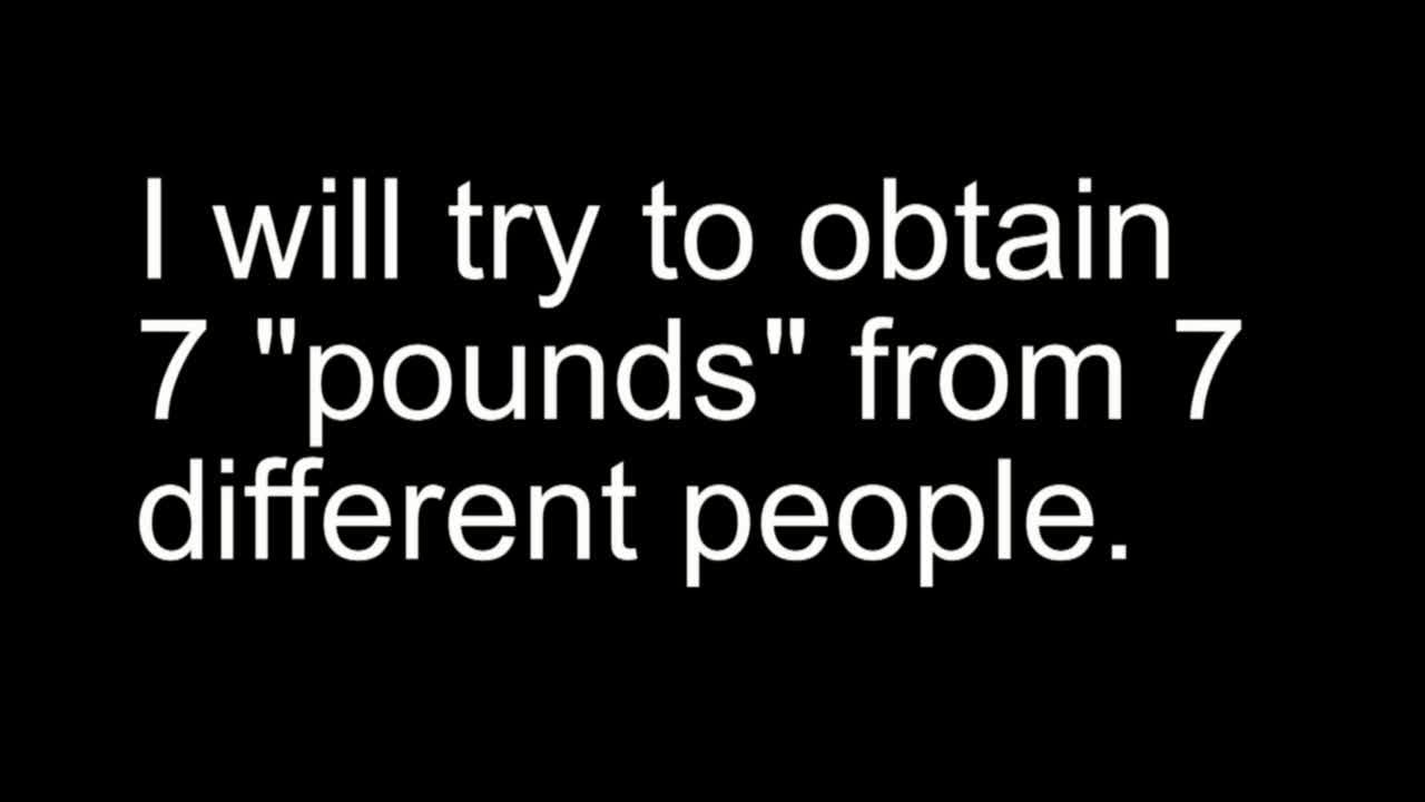 Seven Pounds Parody