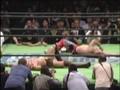 Marufuji vs KENTA title vs title match