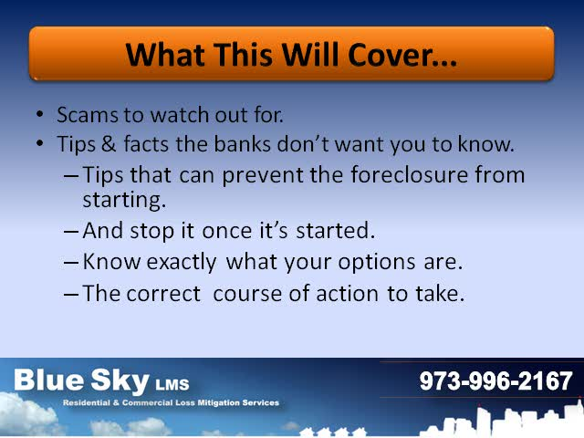 Beware of Foreclosure Scams - Pt 1