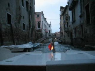 Venice, Italy: Jina's Private Boat Taxi to Hotel Saturnia