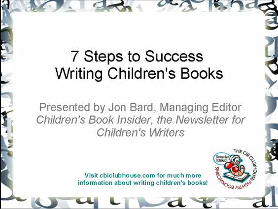 How to write childerns books