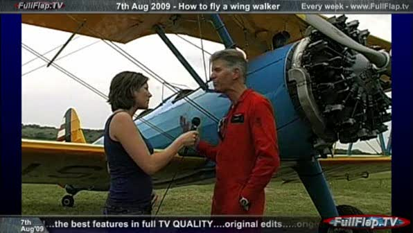 How to pilot a wing walker - 07Aug09