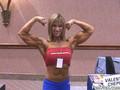 Valentina Chepiga Flexing