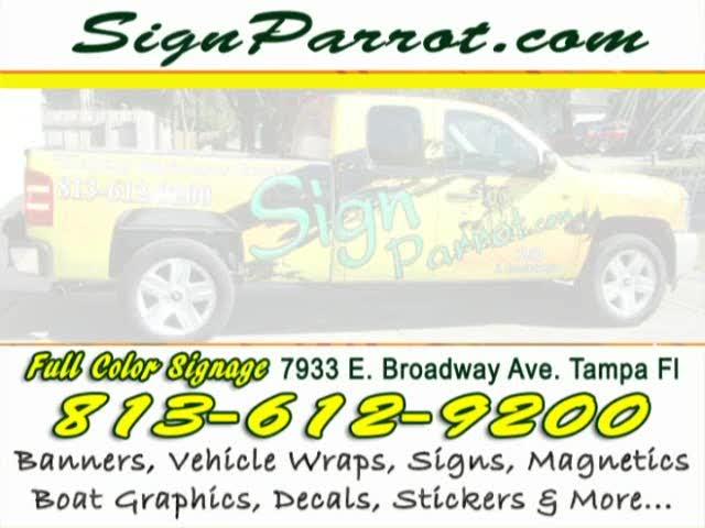Signs Tampa Florida