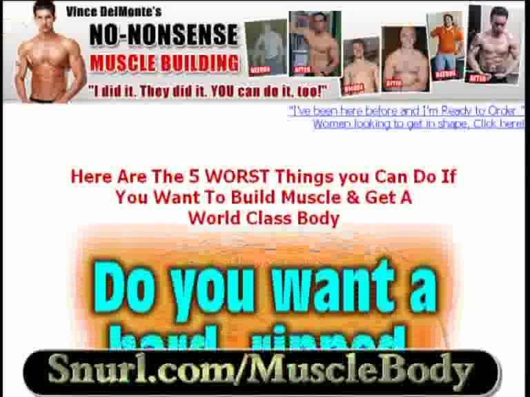 Body Building Tips - Techniques & muscle building