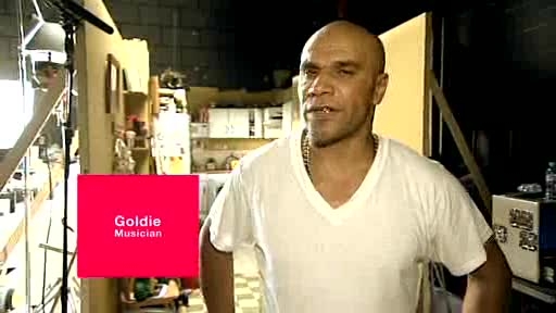 Goldie 'Gives' His Voice