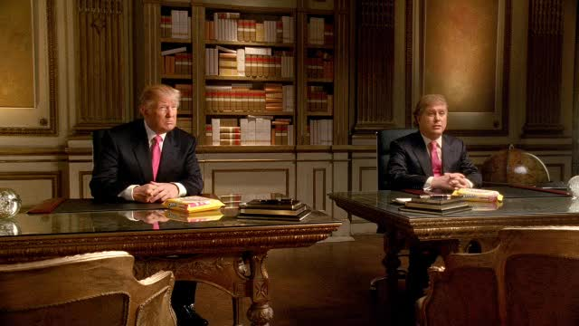 Oreo DSRL:  Stufy gets a Donald Trump haircut.