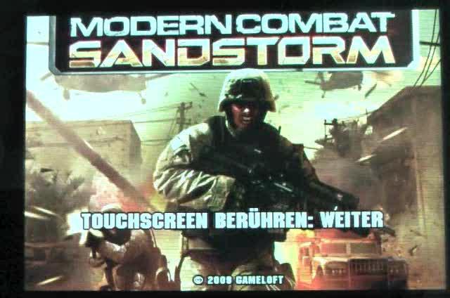 [iPhone-Game] Modern Combat: Sandstorm