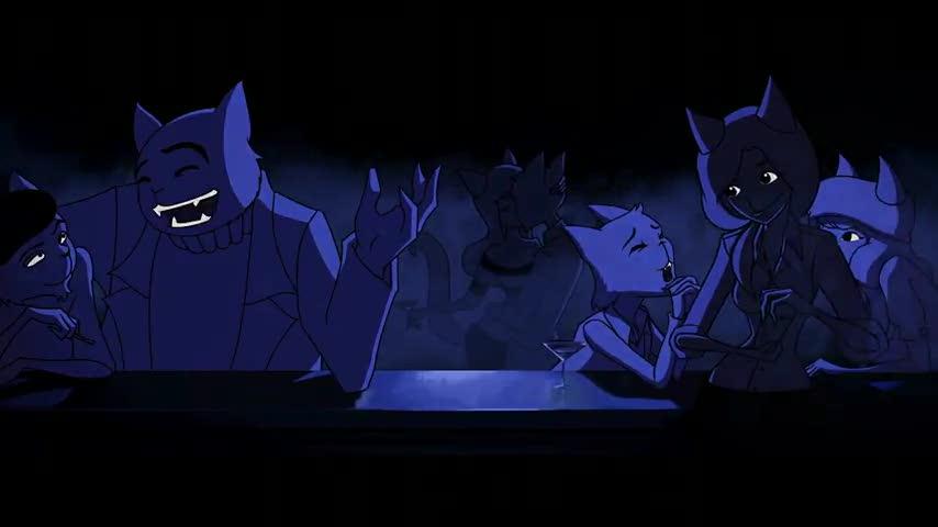 The Cat Piano Animation