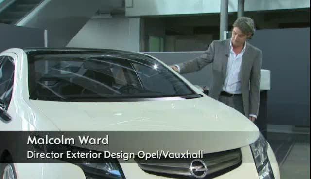 Opel Ampera Design