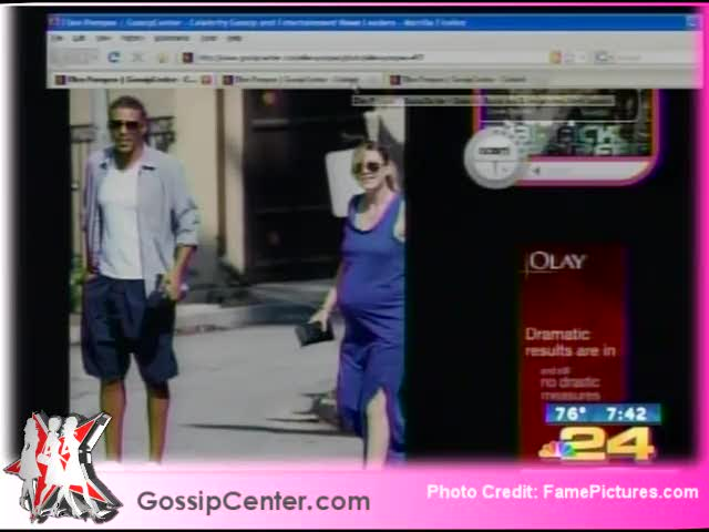 Gossip Center TV:  Ellen Pompeo Welcomes Baby Stella!