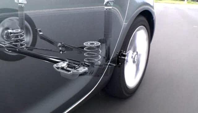 Opel Astra Rear Axle