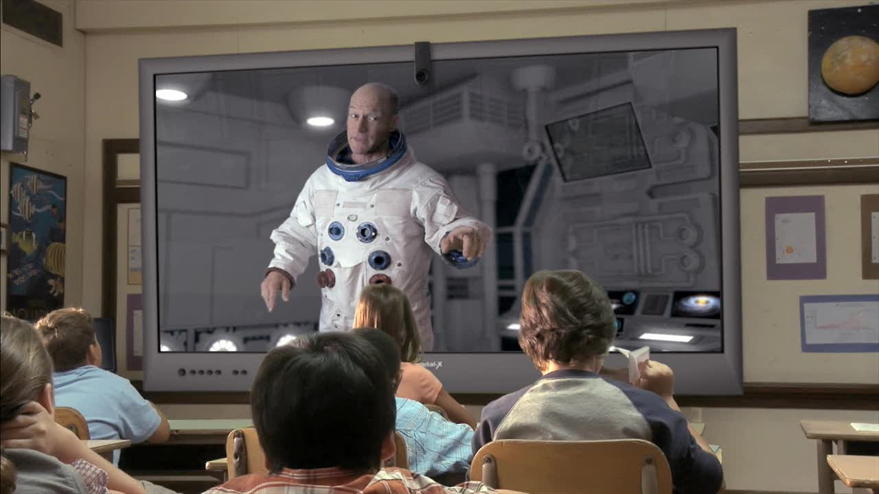 Teacher from Outer Space