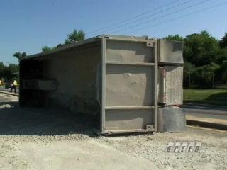 Dump Truck Rollover