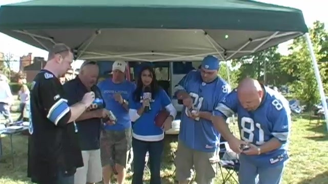 Roaring Tailgaters in Detroit for the Lions - EP32