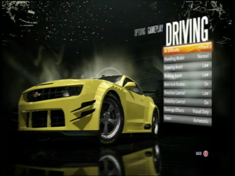 Need for Speed Shift Beat the AI on hard-cheat, well sort of