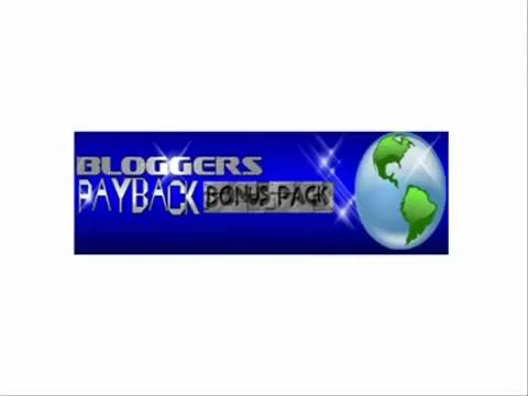 Bloggers payback bonus