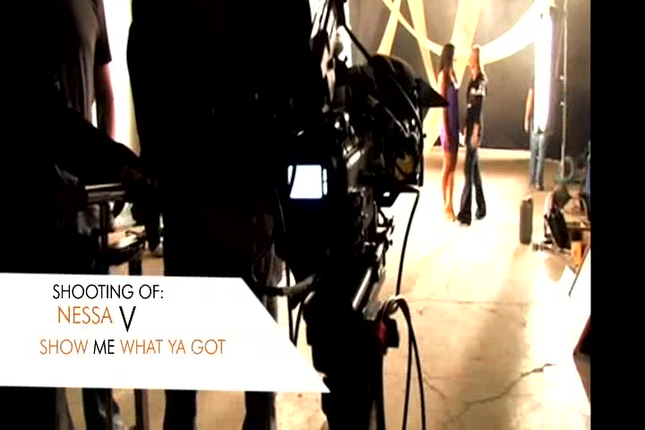 Making of a music video for Nessa V