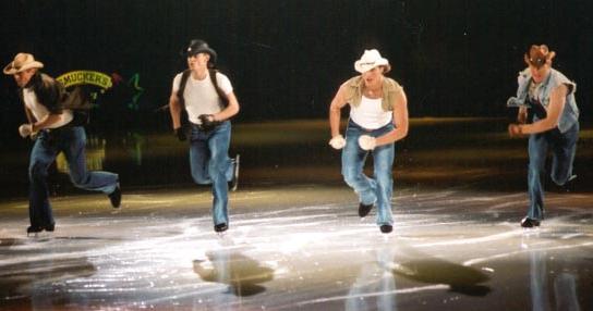 Cowboy On Ice!