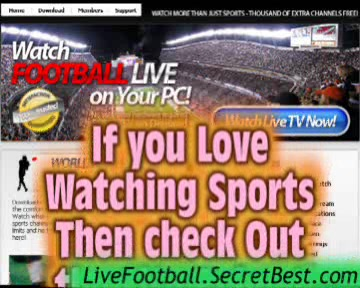 Watch Live Football On Pc