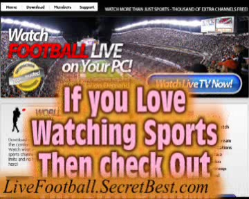 Watch Live Football Match