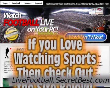 Watch Football Game Live