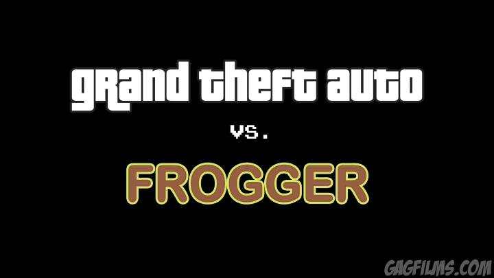 Grand Theft Auto vs. Frogger