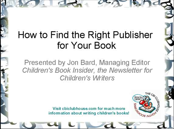 how to find publisher