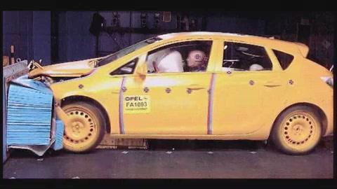 Opel Astra NCAP