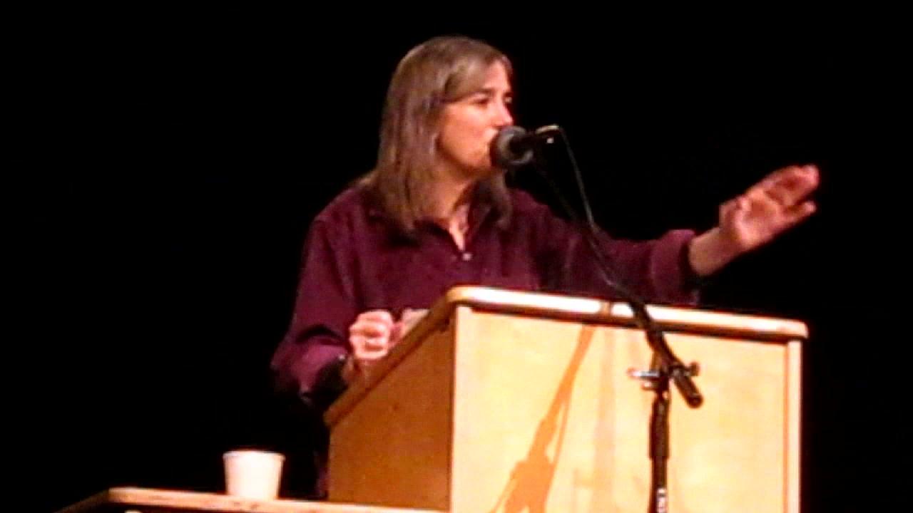 amy goodman in astoria oregon nov. 24th 2009