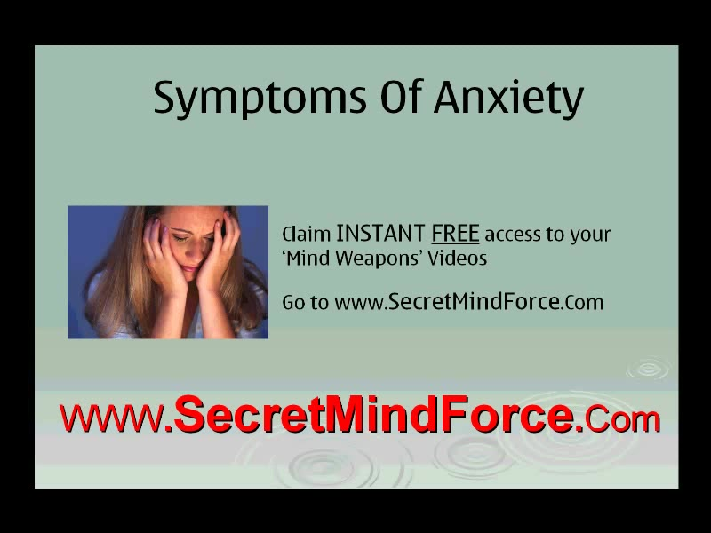 Anxiety Symptoms And How To Control Social Anxiety
