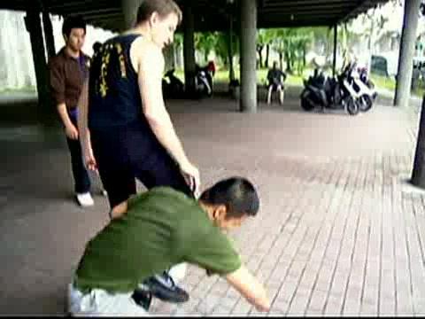 Wing Chun Kicking and Popai 14