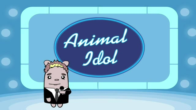 Sleepy Cute Kitty vs Turkey! - Animal Idol 014