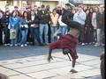 Breakdancers at Fishermans Wharf