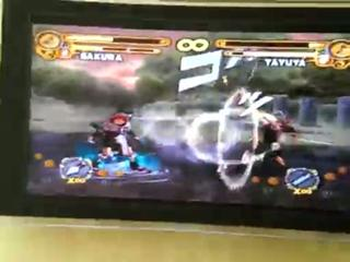 me and my sis playing naruto ultimate ninja 3