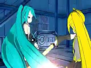 Hatsune Miku (Ryan) VS Akita Neru (Dorkman)