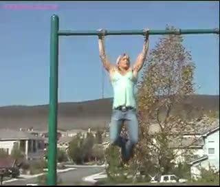Nikki fuller - pull ups