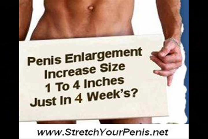 Ways to increase your penis size