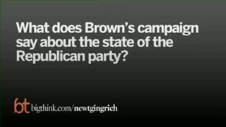 Gingrich On Brown's Election And Pres. Obama